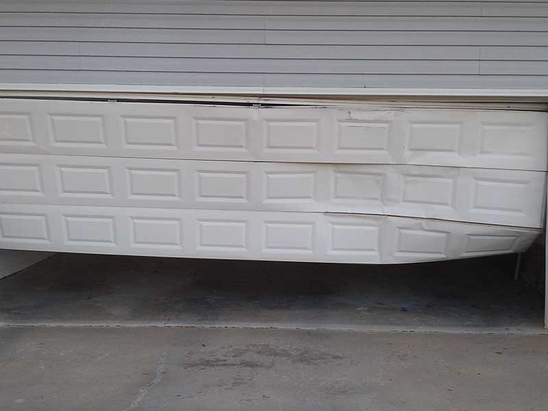 Broken Garage Door Springs Greenville SC